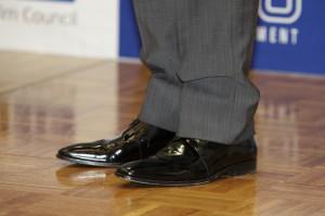 パクヨンハ 靴
