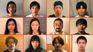 映画「2020年 東京。12人の役者たち」特報カット