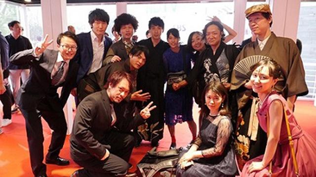 富川国際ファンタスティック映画祭で集合写真