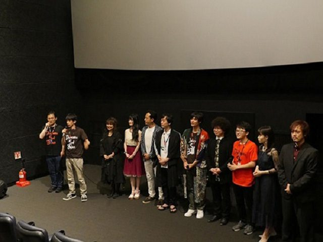 富川国際ファンタスティック映画祭で舞台挨拶